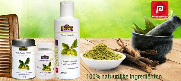 neem plant - producten